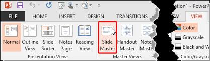 working slide numbers powerpoint 2013 windows