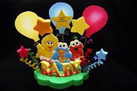 sesame cake toppers sesame babies baby shower cake topper centerpiece sesame