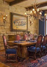 Farmhouse Table Centerpiece Dining Room Rustic With Arched Doorway 15 Gorgeous Dining Rooms With Stone Walls