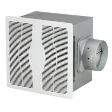 broan 70 cfm ceiling exhaust fan with light white grille 100 watt