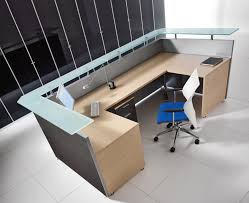 Modular Reception Desks Bralco Square Modular Reception Desk 1 Office Furniture