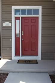 front doors awesome front door red paint color red front door