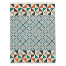 Moorish Design Wallace Sewell Moorish Wool Dhurrie West Elm Uk