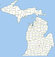 A Map Of Michigan by Announcing The 2017 Michigan Qso Party U2013 Slaarc Wp