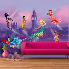 disney fairies in london wallpaper great kidsbedrooms the home disney