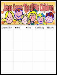 form online printable attendance chart printable attendance chart