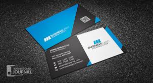 Business Card With Qr Code Free Modern U0026 Professional Business Card Template