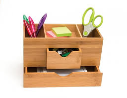 Wood Desk Accessories And Organizers 15 And Admirable Desk Organizers Rilane