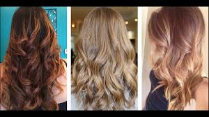 beach brown and caramel hair colour best suits for women with