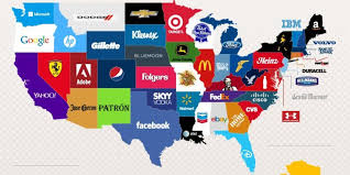 United States Of America Google Map by Here Are The Most Googled Brands In Each State Huffpost
