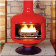 fire drum 2 w screen wood burning or gas fireplace fd2