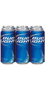 how much is a six pack of bud light bud light 6 pack cans 12oz missouri domestic beer shoprite