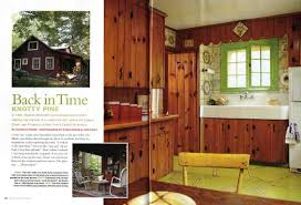 1950 S House by Knotty Pine Kitchen And More In This Month U0027s Old House Interiors
