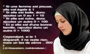 femme musulmane mariage le jour où la femme musulmane brisera ses chaînes ce sera la fin