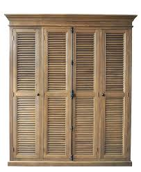 Louvered Cabinet Door Louvered Cabinet Door Doors With Wood Louvers Canada Ramanations