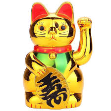 mobile arms fortune chinese cat lucky cat b2t4 ebay