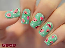 best 10 watermelon nails ideas on pinterest summer nails cute