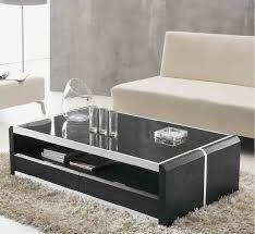 simple design glass centre coffee table living room furniture