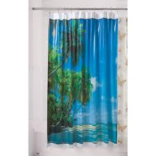 essential home shower curtain hawaii vinyl home bed bath essential home shower curtain hawaii vinyl home bed bath bath bathroom accessories bath accessories