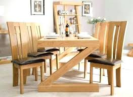 Modern Wood Dining Room Table Dining Room Table Woodworking Plans Modern Dining Table Plans