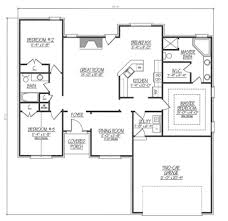 ranch style house plan 3 beds 2 00 baths 1680 sq ft plan 412 133