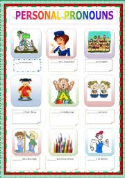 personal pronouns worksheet by ascincoquinas