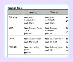 lesson planning for an autism classroom autism classroom autism