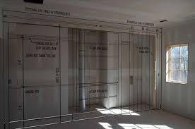 Bedroom Barn Doors Bifold Barn Doors Replace Your Laundry Pantry Or Closet Bedroom
