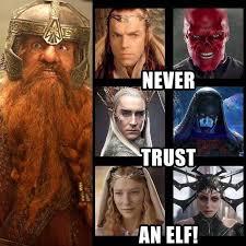 Elf Movie Meme - put me like 盞 never trust an elf