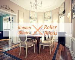 roman blinds vs roller blinds mcelwaines