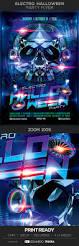 electro halloween party flyer by eduardotrueba graphicriver