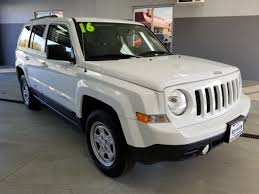patriot jeep used used one owner 2016 jeep patriot sport dixon il ken nelson toyota