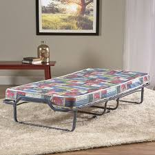 innerspace luxury products folding bed with mattress u0026 reviews