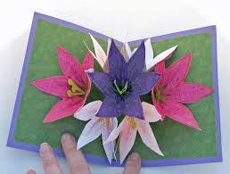 how to make handmade pop up birthday cards 13 best kirigami images on pop up cards kirigami and