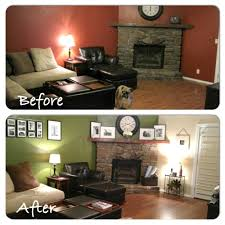 Before And After Living Rooms by Living Room How About Before And After Living Room Elegant