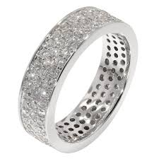 white gold eternity ring 18ct white gold 2 4 carat diamond eternity ring jewellery