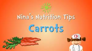 thanksgiving nutrition nina u0027s nutrition tips benefits of a carrot preschool learning