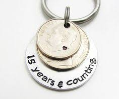 15 year anniversary gift 15 year anniversary gift handsted coins 15th anniversary