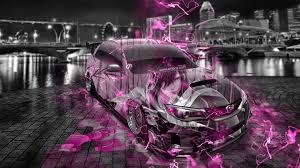 pink subaru subaru impreza wrx sti jdm anime samurai city car 2015 wallpapers