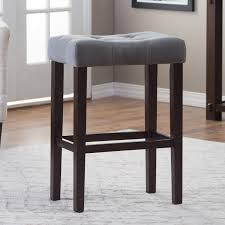 Black Backless Counter Stools Finley Home Palazzo 26 In Saddle Counter Stool Hayneedle