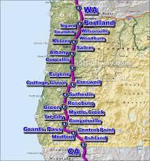 map of oregon i 5 i 5 oregon traffic map