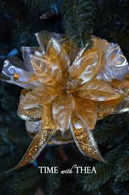organza handmade christmas tree ornament time with thea