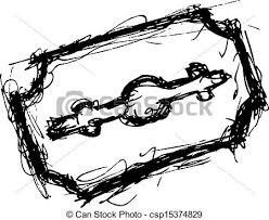 vector illustration of razor blade csp15374829 search clipart