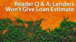 Estimate House Loan Approval by Reader Question How Can I Shop For A Mortgage When Lenders Won T