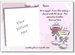 wedding announcement templates wedding invitation maker printable wedding invitation templates