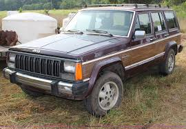jeep wagoneer lifted 1988 jeep wagoneer limited suv item h6614 sold septembe