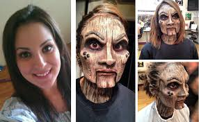 special effects makeup for beginners 16 amazing special effect make up transformations