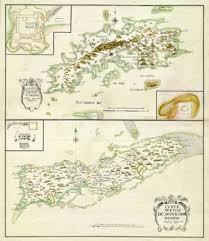 st croix caribbean map st croix west indies us islands 1734
