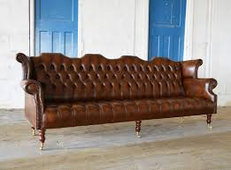 Leather Chesterfields Sofas Barber Leather Chesterfield Sofa Abode Sofas