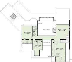 craftsman floor plan craftsman style house plan 4 beds 3 00 baths 3345 sq ft plan 17